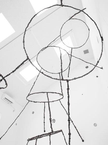空の粒子/等々力 2010 コールテン鋼 h600×w631×d500cm