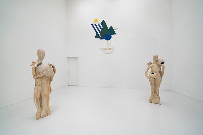 「像化」(2019)展示風景