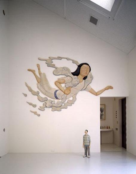 Swimming Woman 2009 陶
