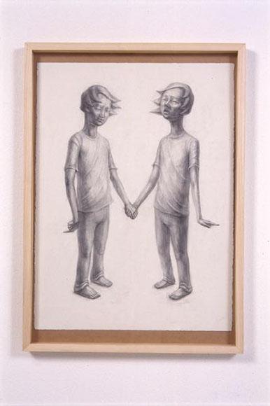 素描 Lost Child 2008 紙に鉛筆