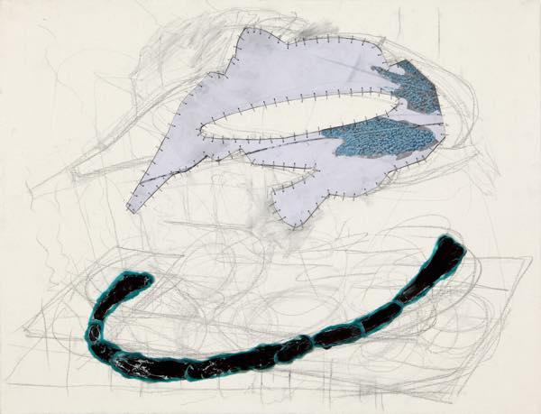 「Drawing」2011 酸化皮膜したアルミニウム、紙