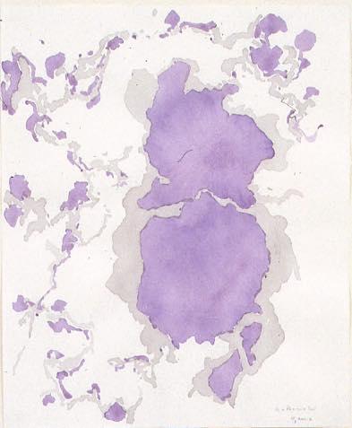 Untitled (11-3・2002-2) 2002 ワットマン紙に水彩 47.0 x 39.0 cm