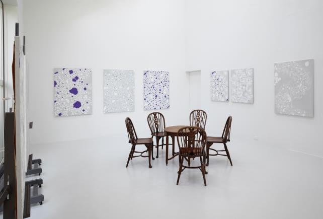 「中西夏之 新作展」(2012)展示風景