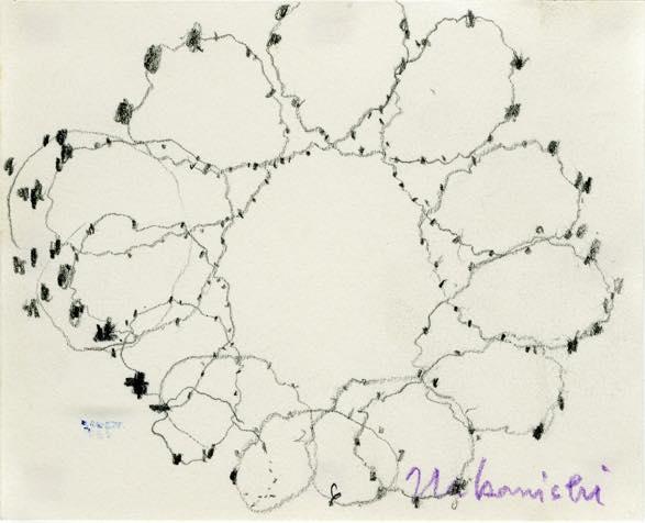 untitled 紙に鉛筆 10.5 × 13.0cm