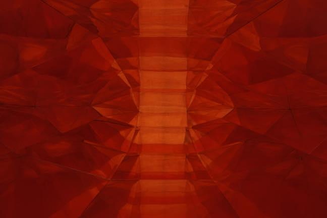 赤い内部を持つ形(内部)