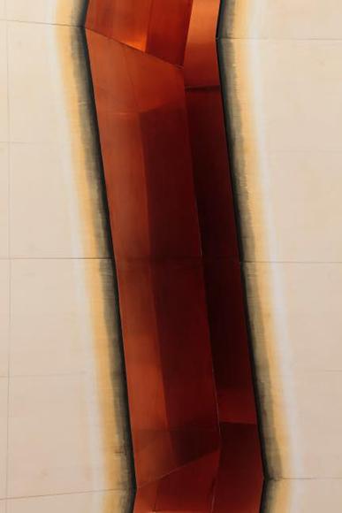 溝(部分) 2017 木、鉄、銅板 2470×2270×2400mm