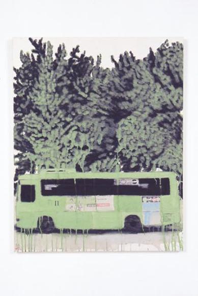 bus 2008 81x65cm